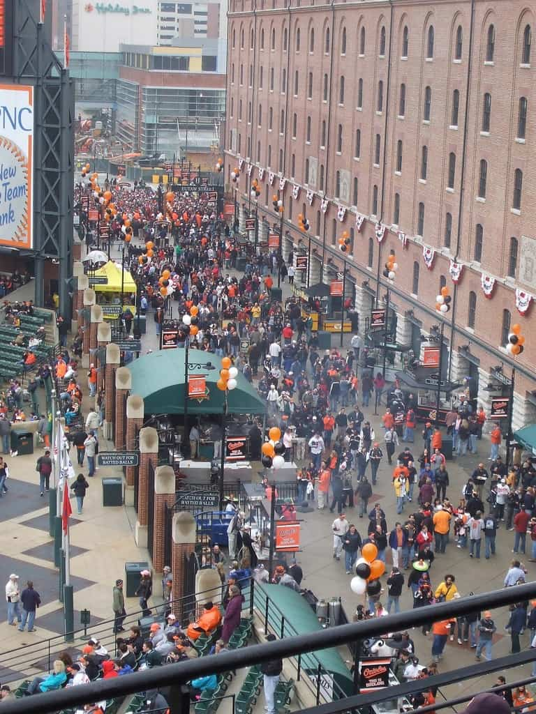 Boogs on Eutaw at Oriole Park