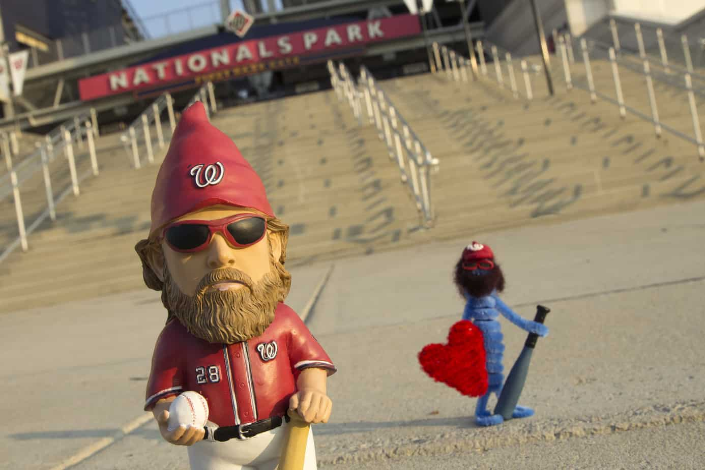 Gnome from Nationals Park