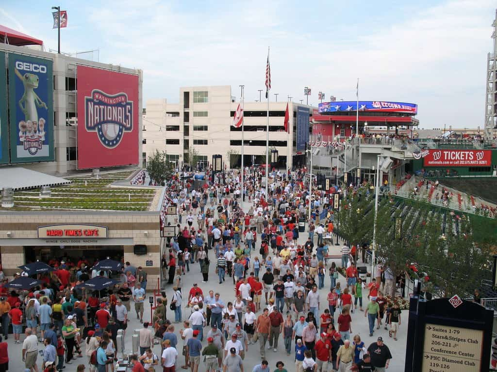 Half Street at Nationals Park