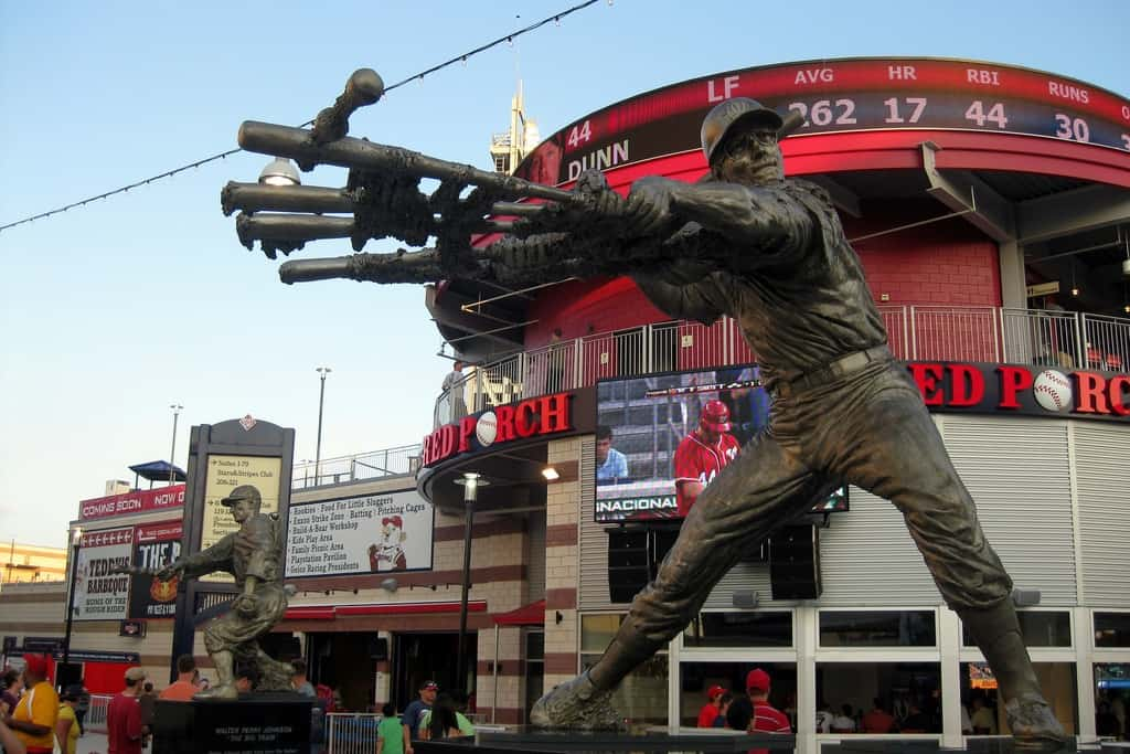 Howard Statue at Nationals Park