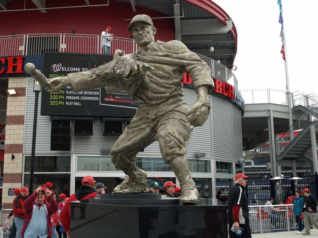 Johnson Statue at Nationals Park