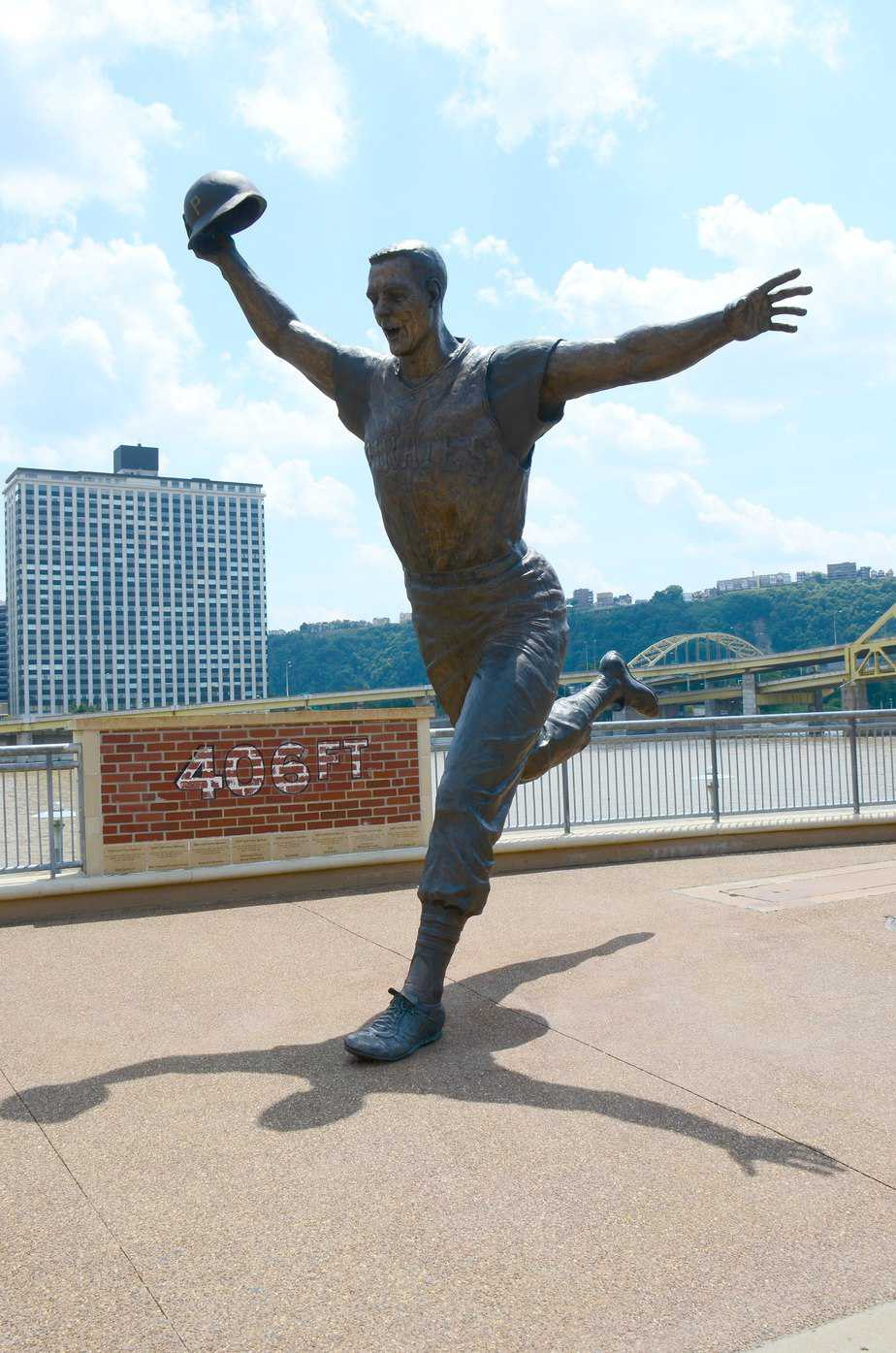 Maz Statue at PNC Park