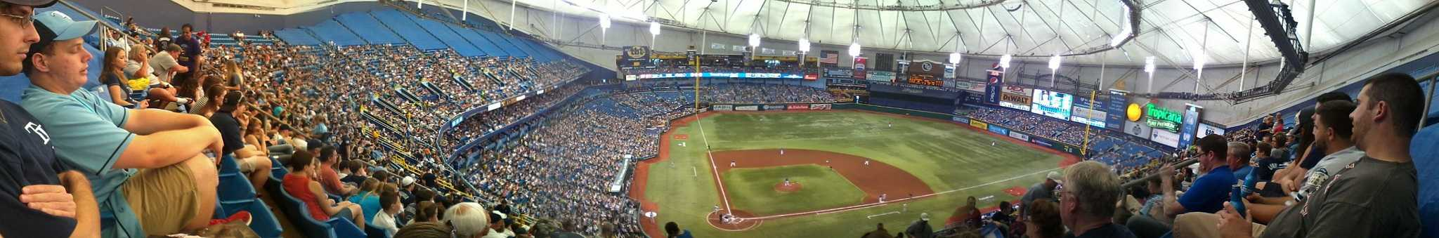 Panorama of Tropicana Field