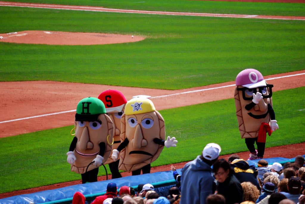 Pierogies Race at PNC Park