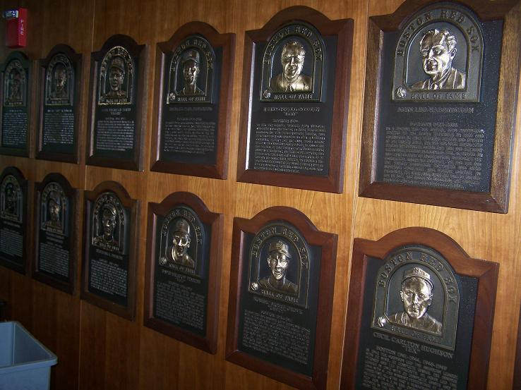 Red Sox Hall of Fame at Fenway Park
