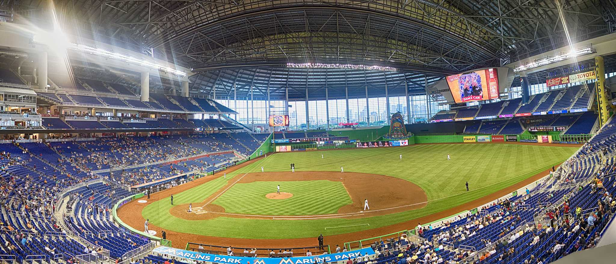 Panorama at Marlins Park