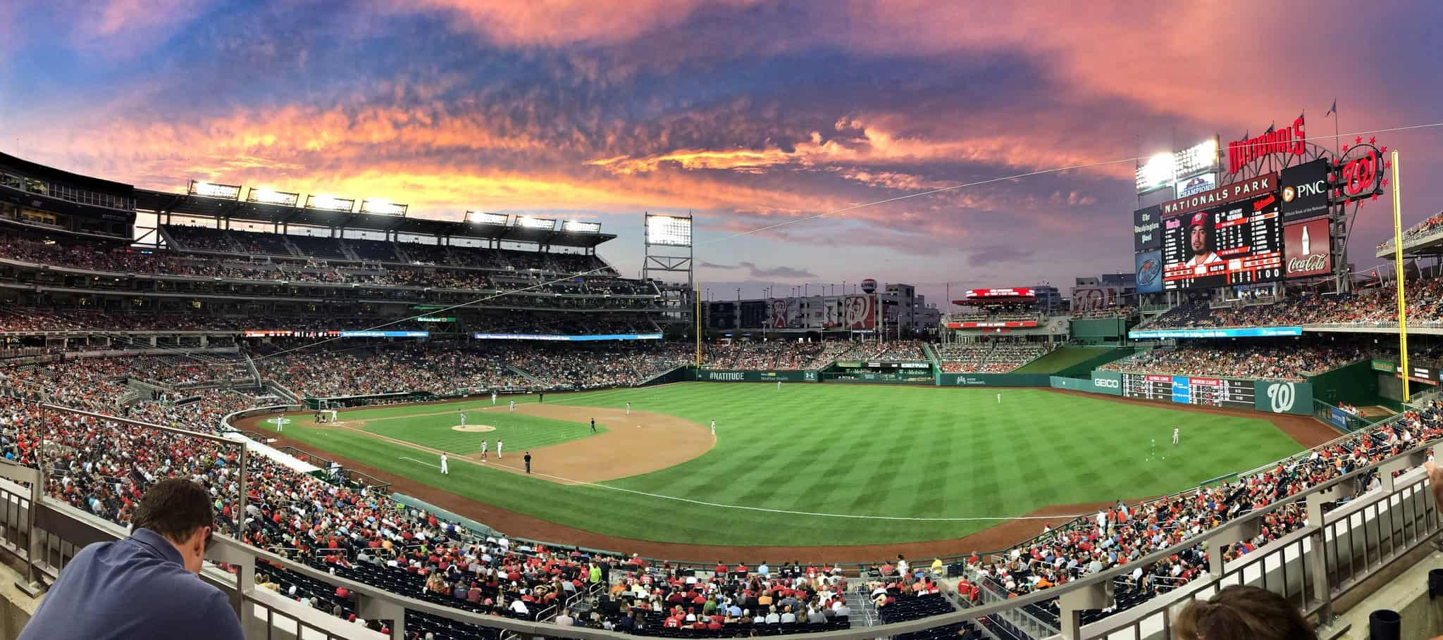 Sunset at Nationals Park