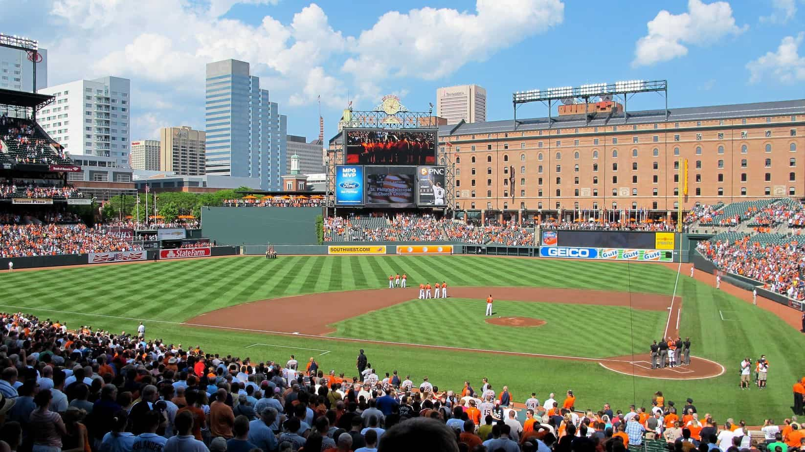 Panorama of Oriole Park