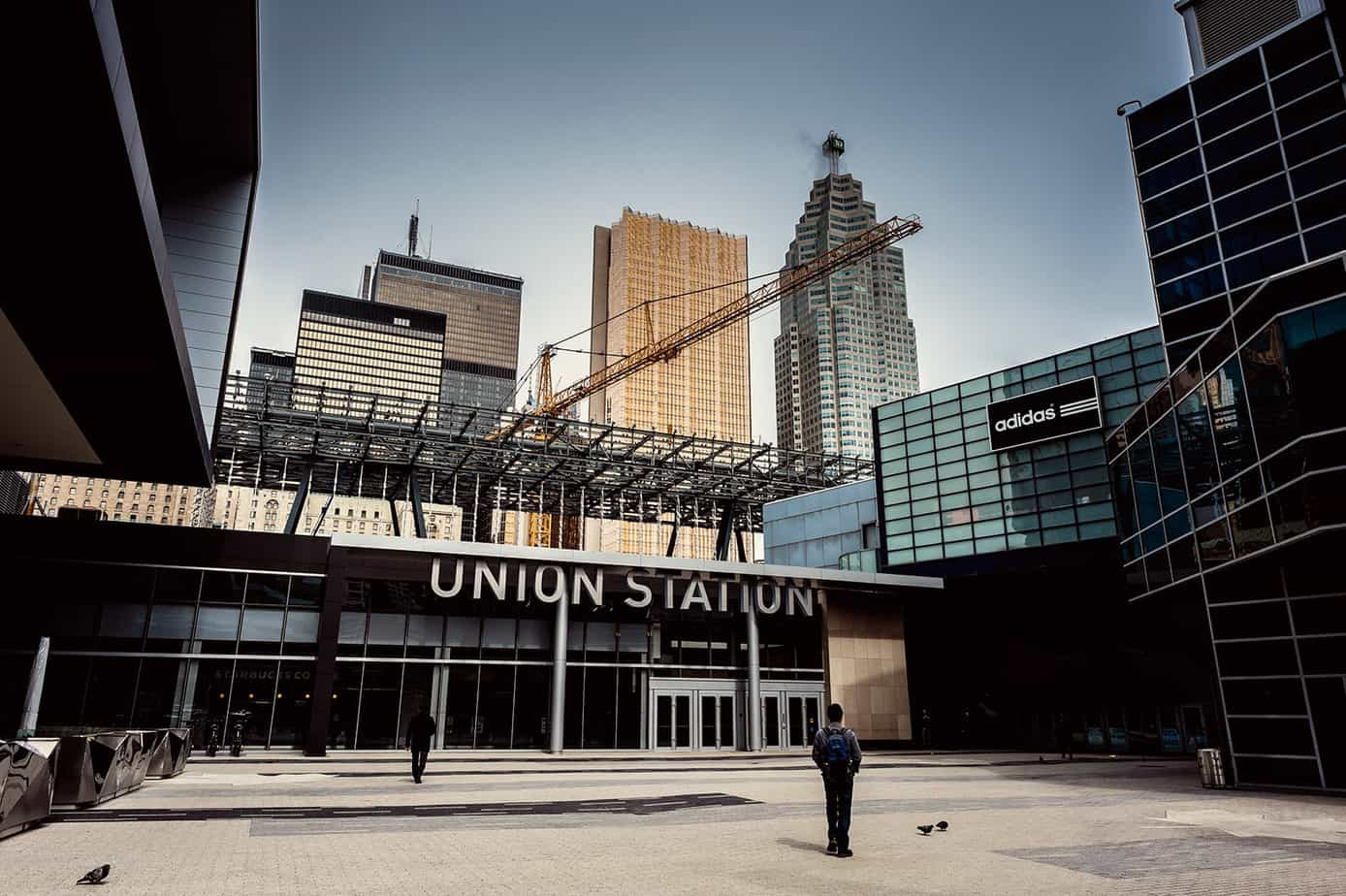 Union Station near Rogers Centre