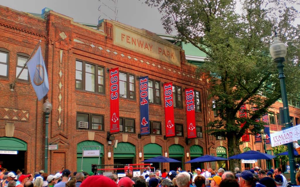 Yawkey Way at Fenway Park