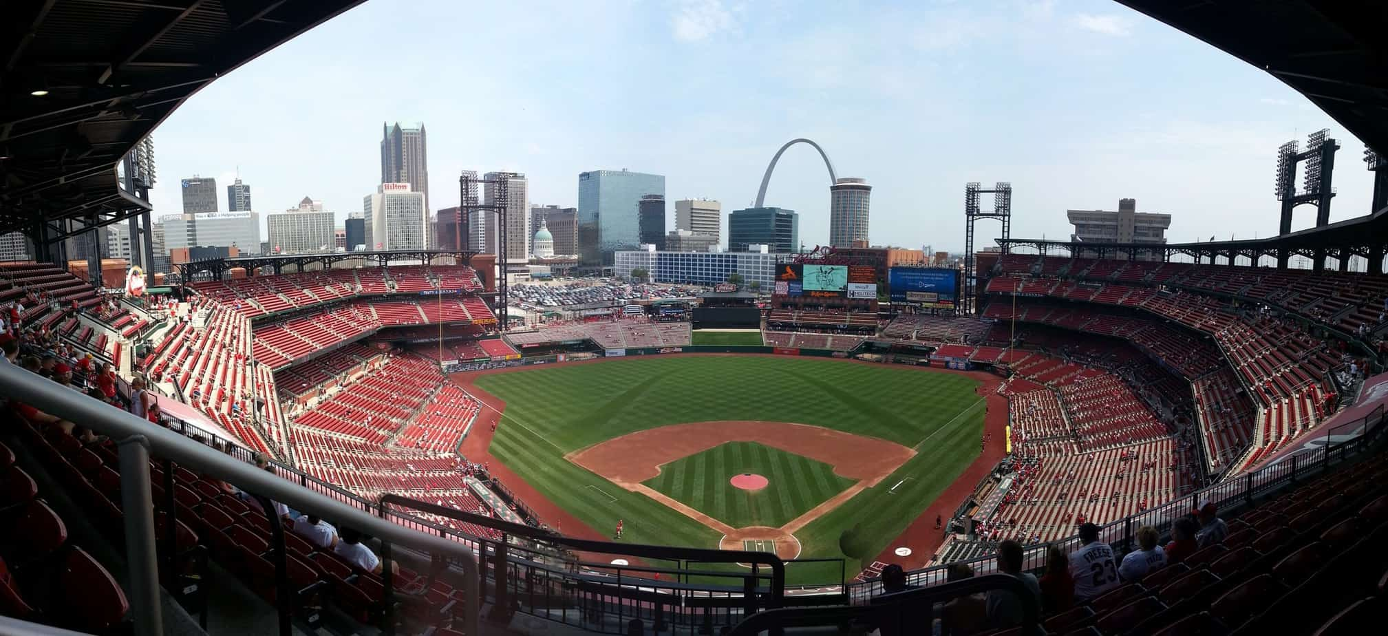 Panorama of Busch Stadium