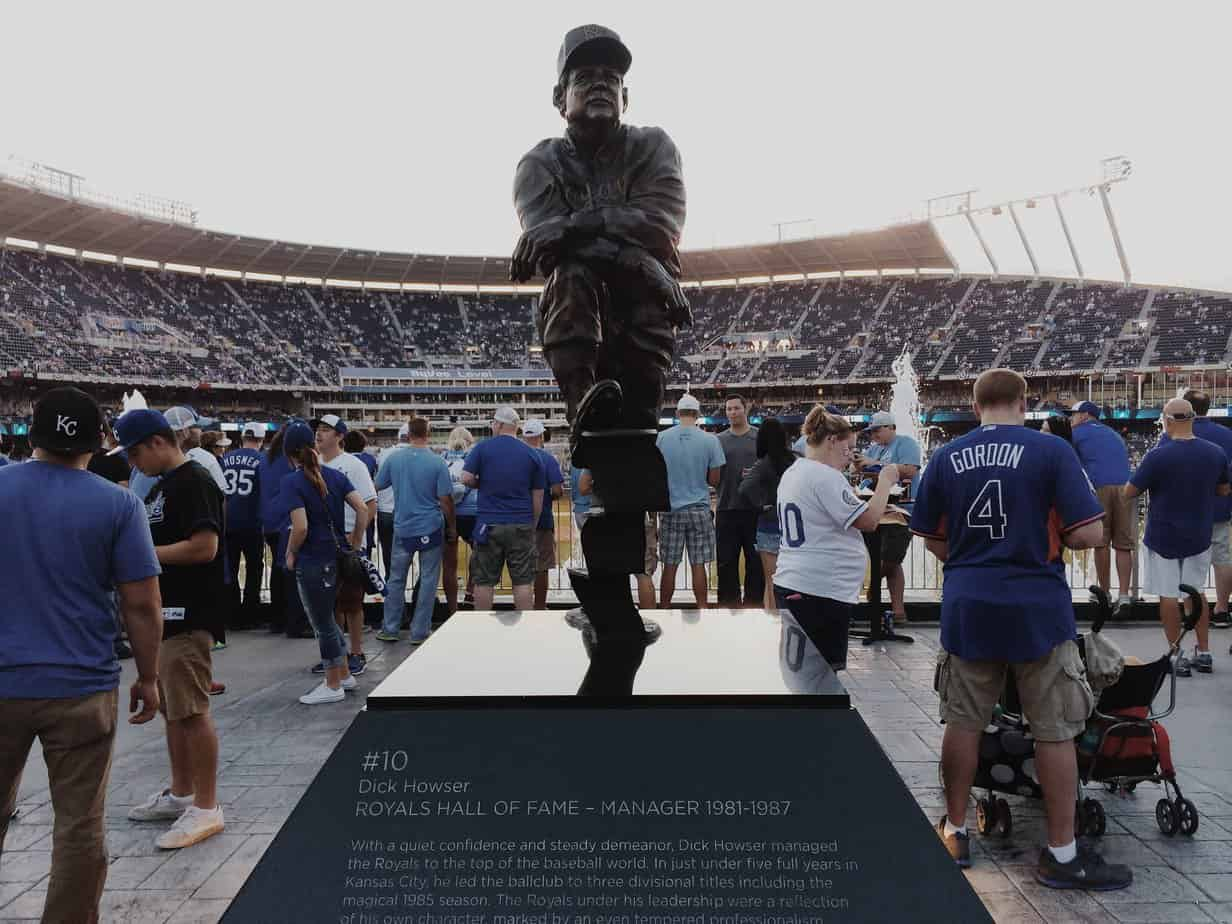 Howler Statue at Kauffman Stadium