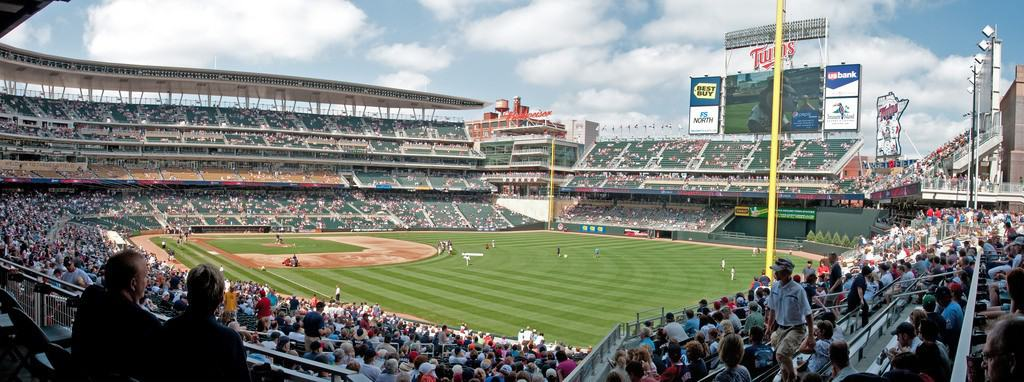 Right Field at Target Field