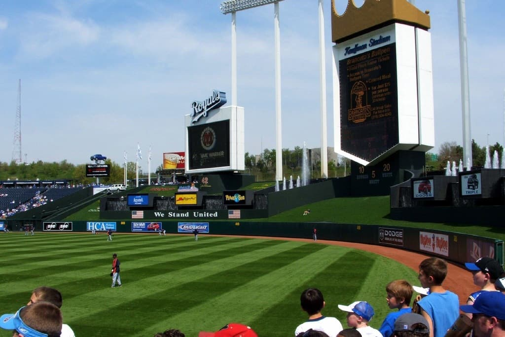 Rural View of Kauffman Stadium