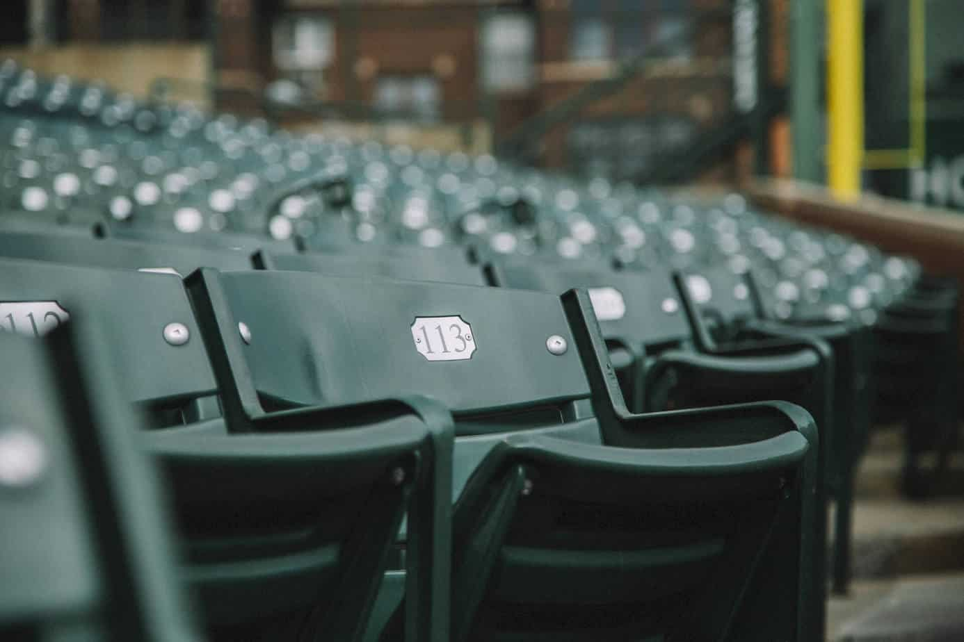 Bartman Seat at Wrigley Field