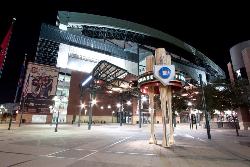 Exterior of Chase Field