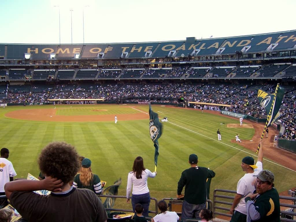 Bleacher View at Coliseum