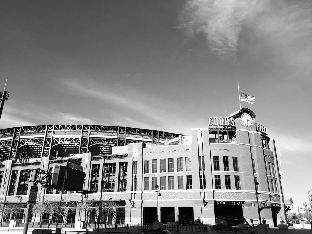 Ebbets Exterior of Coors Field