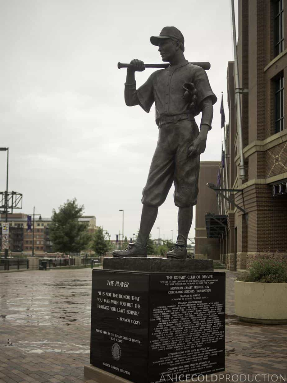 The Player at Coors Field
