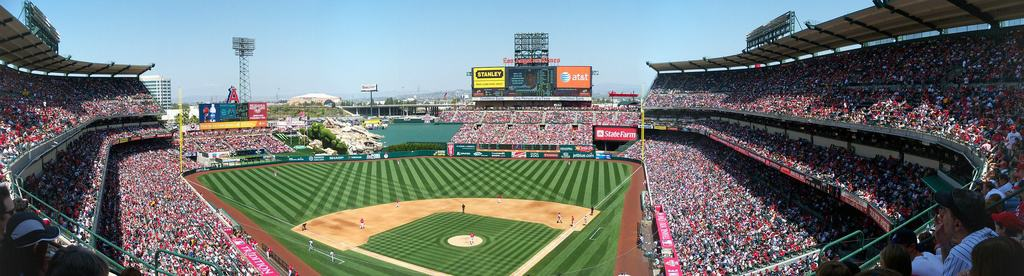 Upper Deck Seats at Angel Stadium