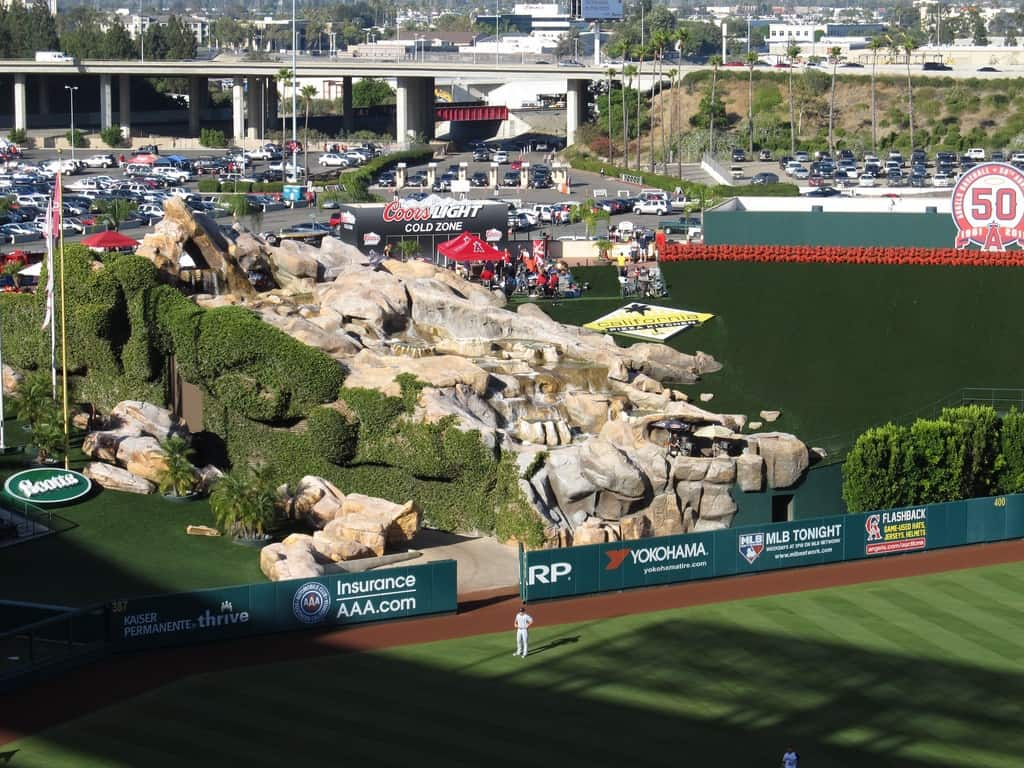 Rockpile at Angel Stadium