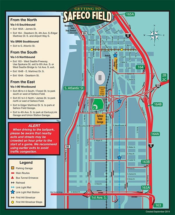 Safeco Map