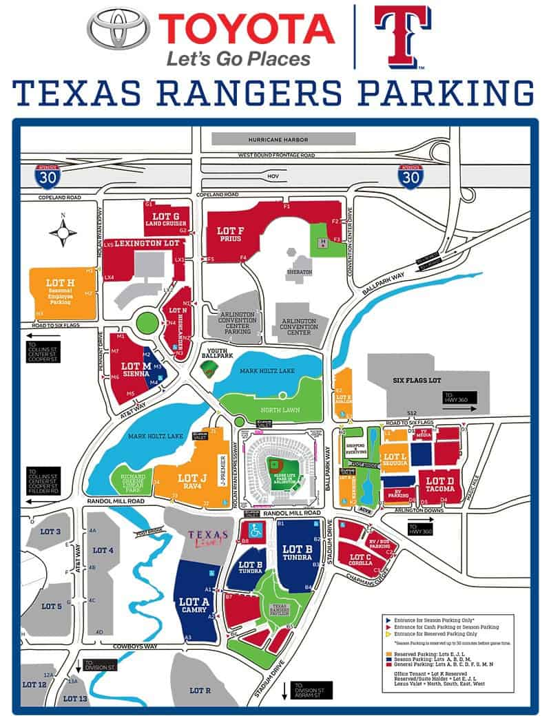 Globe Life Park in Arlington – Where to Park, Eat, and Get ...