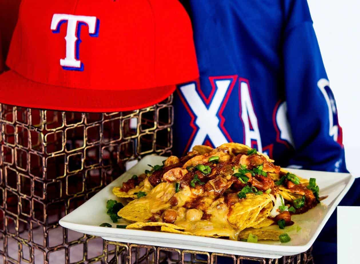 Vegan Nachos at Globe Life Park