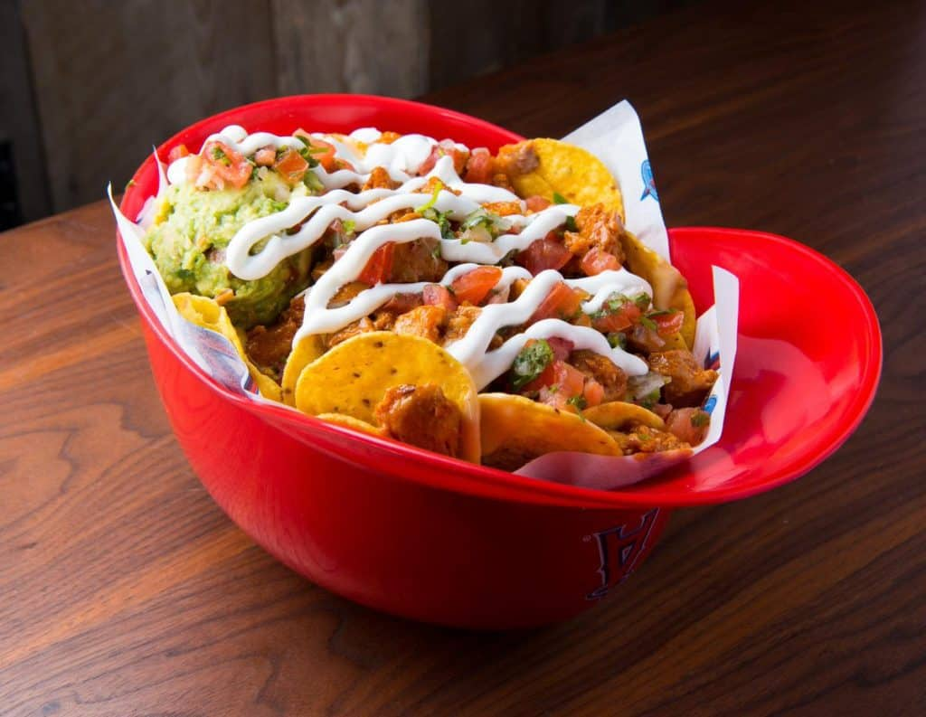 Loaded Helmet Nachos