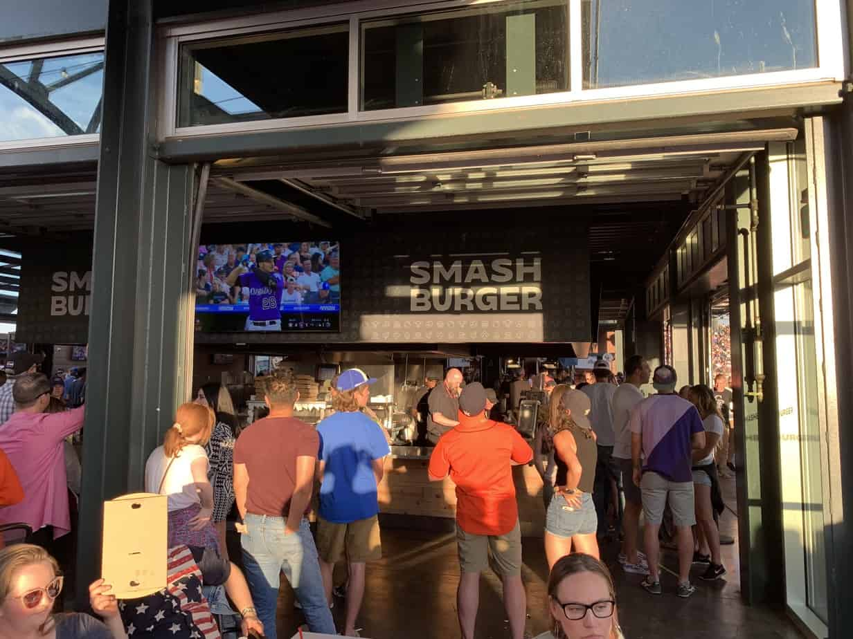 Smash Burger Coors Field